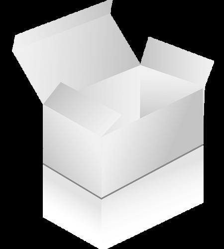 nepotlačená krabička