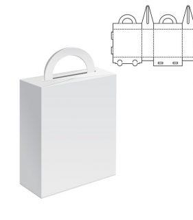 papierové tašky s výsekovou formou