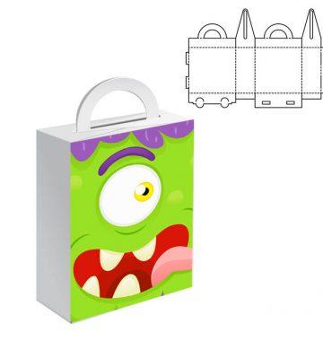 Ukážka papierovej tašky